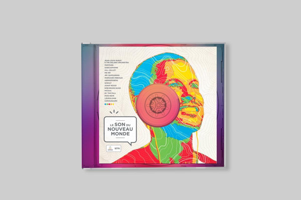 CD réalisé pour les attentes téléphoniques des partenaires du programme de marketing territorial Auvergne Nouveau Monde à partir d'une sélection de groupes et musiciens auvergnats comme Jean-Louis Murat