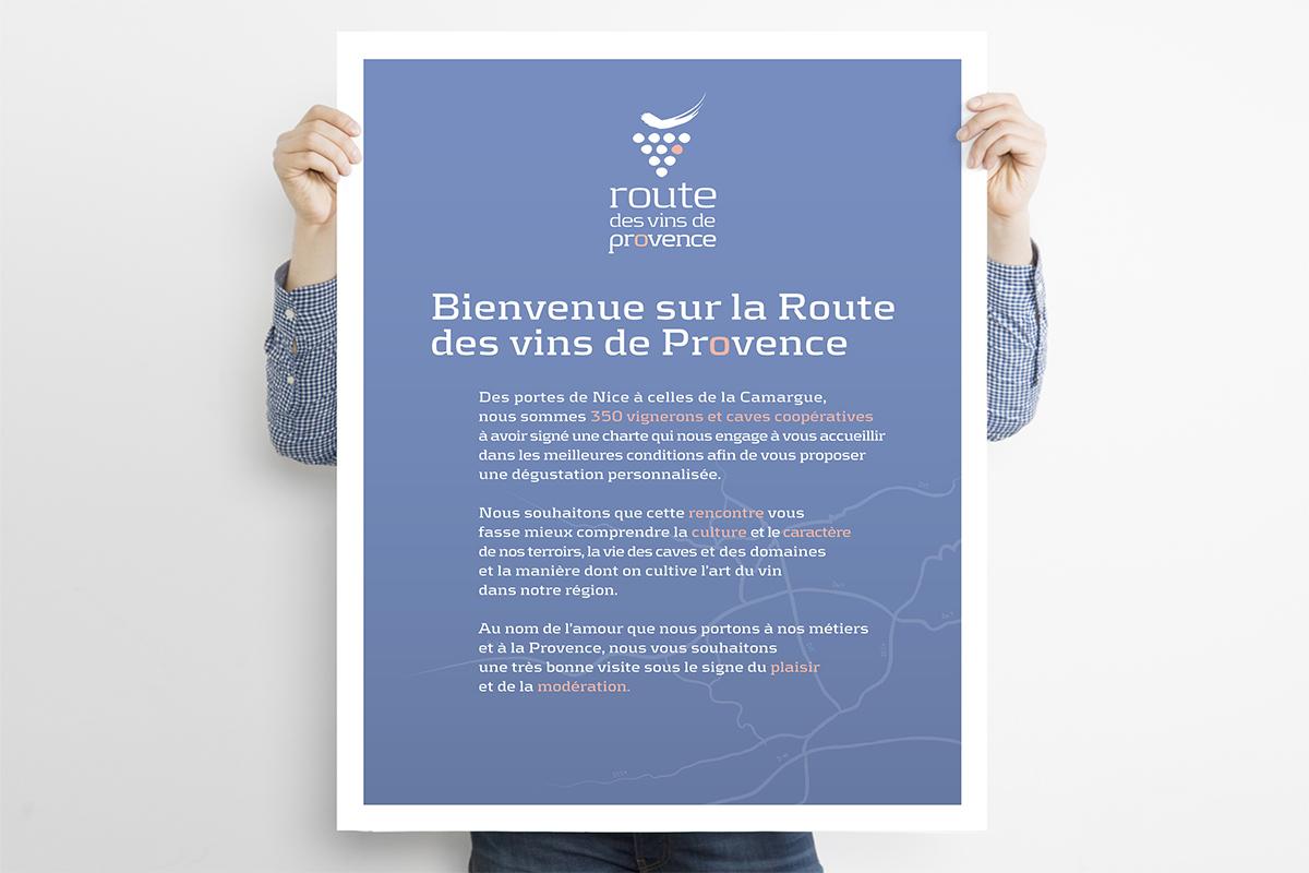 Charte d'accueil de la Route des vins de Provence